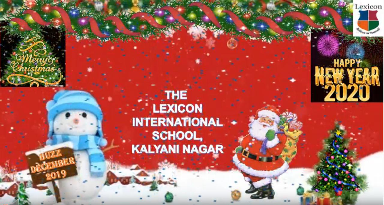 Buzz - The Lexicon School Kalyani Nagar -December 2019