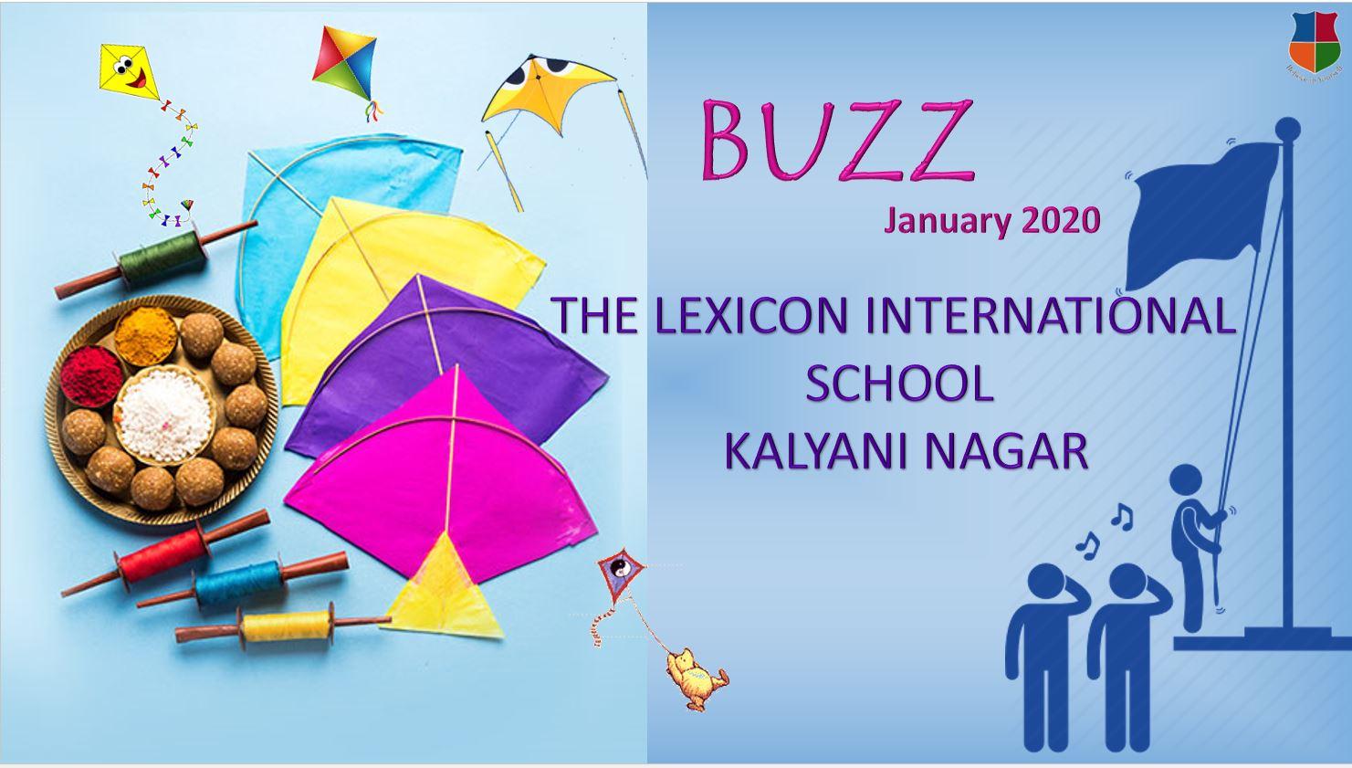 Buzz - The Lexicon School Kalyani Nagar -January 2020