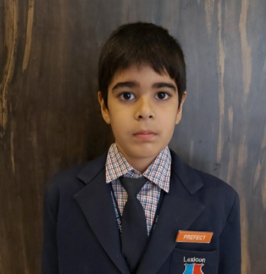 Pavit Arya III-C Prefect Orange House